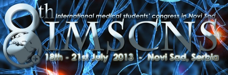 8th International Medical Students Congress in Novi Sad – IMSCNS